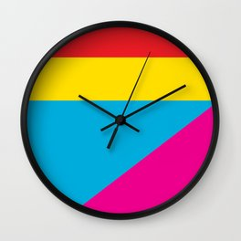 Geometric Shapes 02 Wall Clock