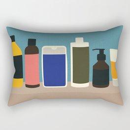 Plastic Bottles Rectangular Pillow