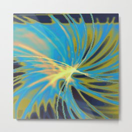 Psychedelica Chroma VII Metal Print