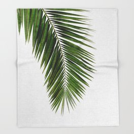 Palm Leaf I Throw Blanket