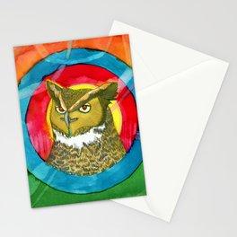 Fantasy owl Stationery Cards