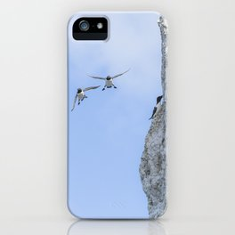 Aborted landing iPhone Case