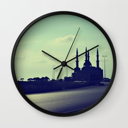 Salaam (Peace) Wall Clock