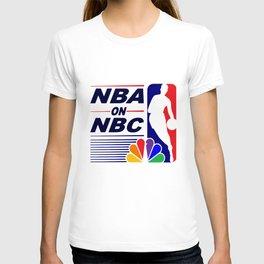 Nba On Nbc Classic Vintage 90S Tank Top Warriors Bulls Throwback Look Basketball T-Shirts T-shirt