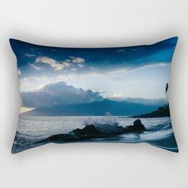 Polo Beach Dreams Maui Hawaii Rectangular Pillow