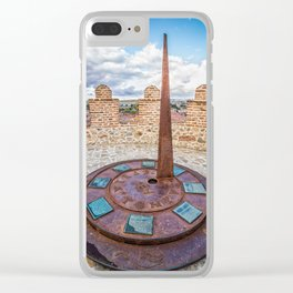 Sundial Clear iPhone Case
