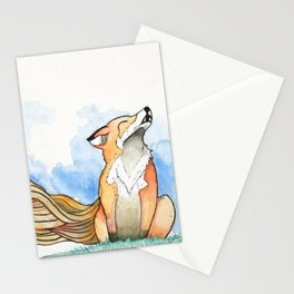 *Fox Noises* Stationery Cards