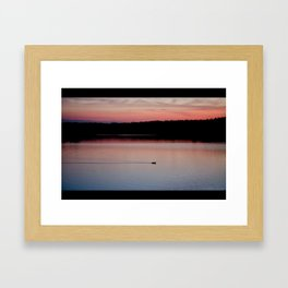 alone again Framed Art Print