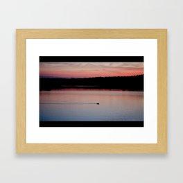 alone again Framed Art Print