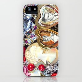 Family Jewels iPhone Case