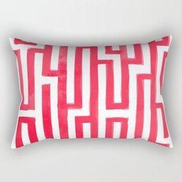 Enter the labyrinth Rectangular Pillow