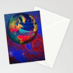 Fractal World Stationery Cards