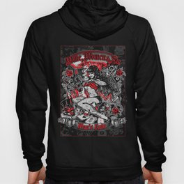 Wine Women & Sin Tattoo Girl Hoody