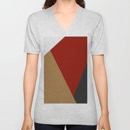 Abstract modern print 3 Unisex V-Neck