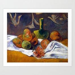Paul Gauguin Still Life Art Print