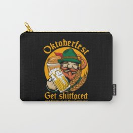 Oktoberfest Get Fucked Up Carry-All Pouch