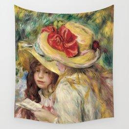 """Auguste Renoir """"Les deux soeurs"""" Wall Tapestry"""