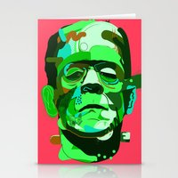 frank Stationery Cards featuring Frank. by Huxley Chin