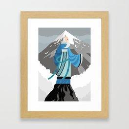 great asian chinese thinker philosopher Framed Art Print