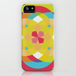 Sacred tiles iPhone Case
