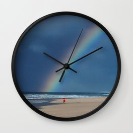 Rainbow Beach * Hawaii Wall Clock