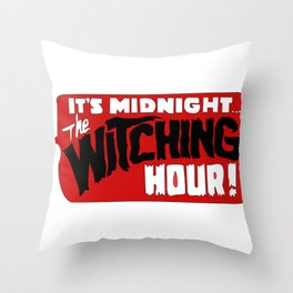 That time of night Throw Pillow