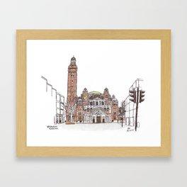 Westminster Cathedral Framed Art Print