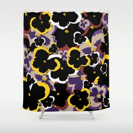Pansy Love Shower Curtain