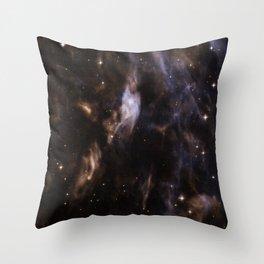 Nebula Sh2-308, EZ Canis Majoris Throw Pillow