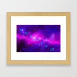 Children Of Stardust Framed Art Print