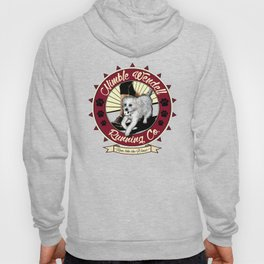 Nimble Wendell Running Co. (Contemporary Logo) Hoody