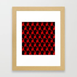 Cubic Craziness Framed Art Print