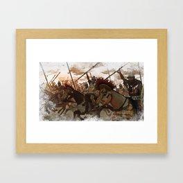 Ancient Warriors Framed Art Print