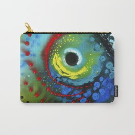 Tropical Fish - Colorful Beach Art By Sharon Cummings Carry-All Pouch