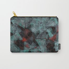 Triangle chaos Blood snowflakes Carry-All Pouch