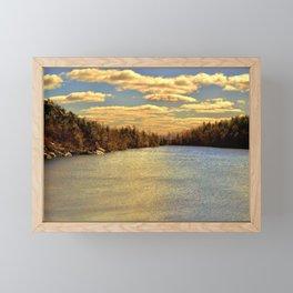 Lake Minnewaska in Autumn Framed Mini Art Print