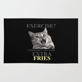 exercise what? Rug