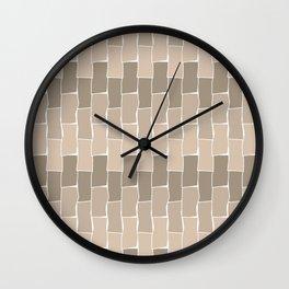 Running Bond - Sand Wall Clock