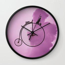 Straight On Wall Clock