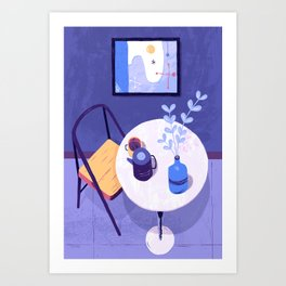 Interior Configuration Art Print