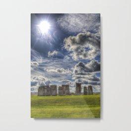Stonehenge Summer Metal Print