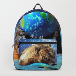 Give Planet Earth A Bear Hug! Backpack
