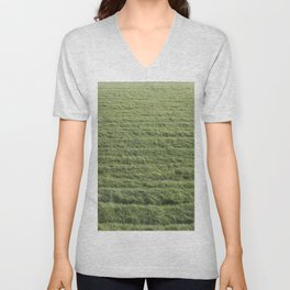 The greenest Grass Unisex V-Neck