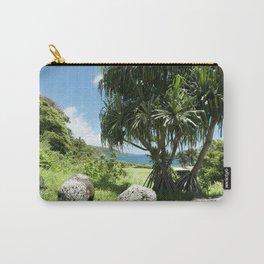 Keanae Point Maui Hawaii Carry-All Pouch