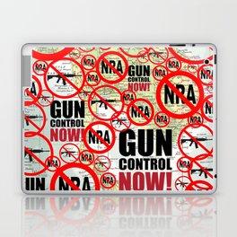 No Guns, Gun Control Now on Map Laptop & iPad Skin