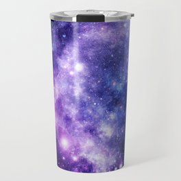 Galaxy Planet Purple Blue Space Travel Mug
