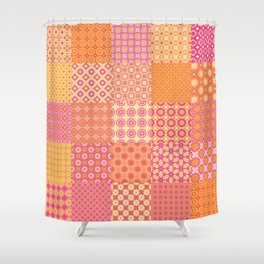 pink and yellow shower curtain.  Sku Shower Curtains Society6 Pink And Yellow Curtain Ideas Dollclique Com