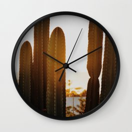 Pretty Fly for Some Cacti Wall Clock