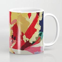 Parrot Tulip Abstract Coffee Mug