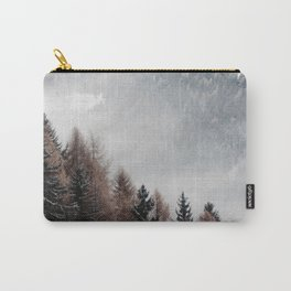 Diagonal Nature Carry-All Pouch